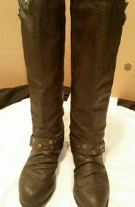 Wild Diva tall brown boots